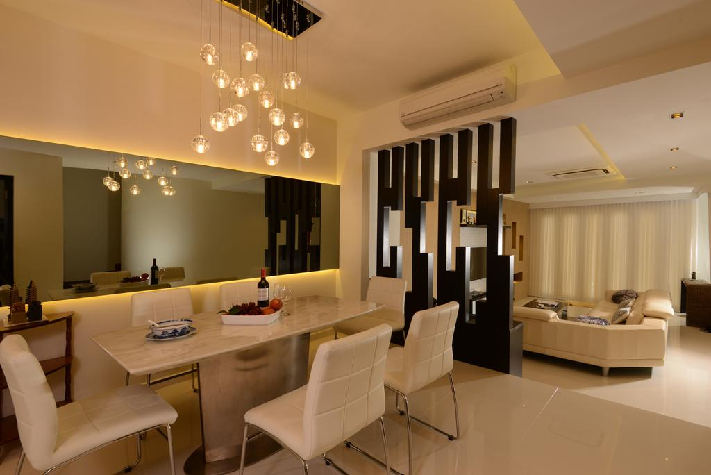 Landed, Dining Room, Poh Huat Crescent, Interior Designer, 96 Designers Group, Chair, Furniture, Indoors, Interior Design, Room, Dining Table, Table, Couch