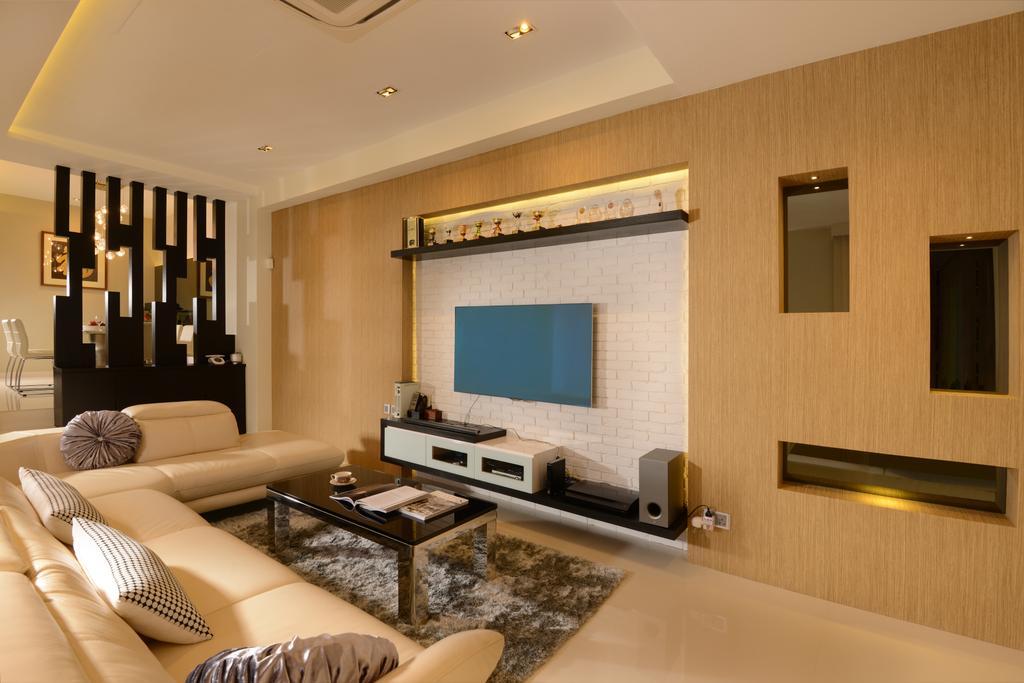 Landed, Living Room, Poh Huat Crescent, Interior Designer, 96 Designers Group, Couch, Furniture, Indoors, Interior Design