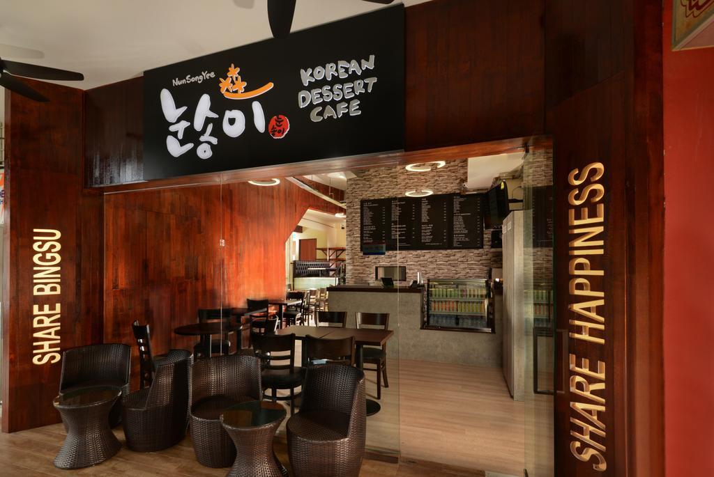 Korean Dessert Cafe, Commercial, Interior Designer, 96 Designers Group, Couch, Furniture, Cafe, Restaurant, Chair, Hardwood, Wood