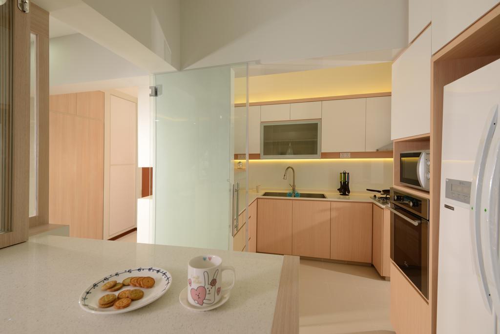 HDB, Dining Room, Sumang Walk (Block 217C), Interior Designer, 96 Designers Group