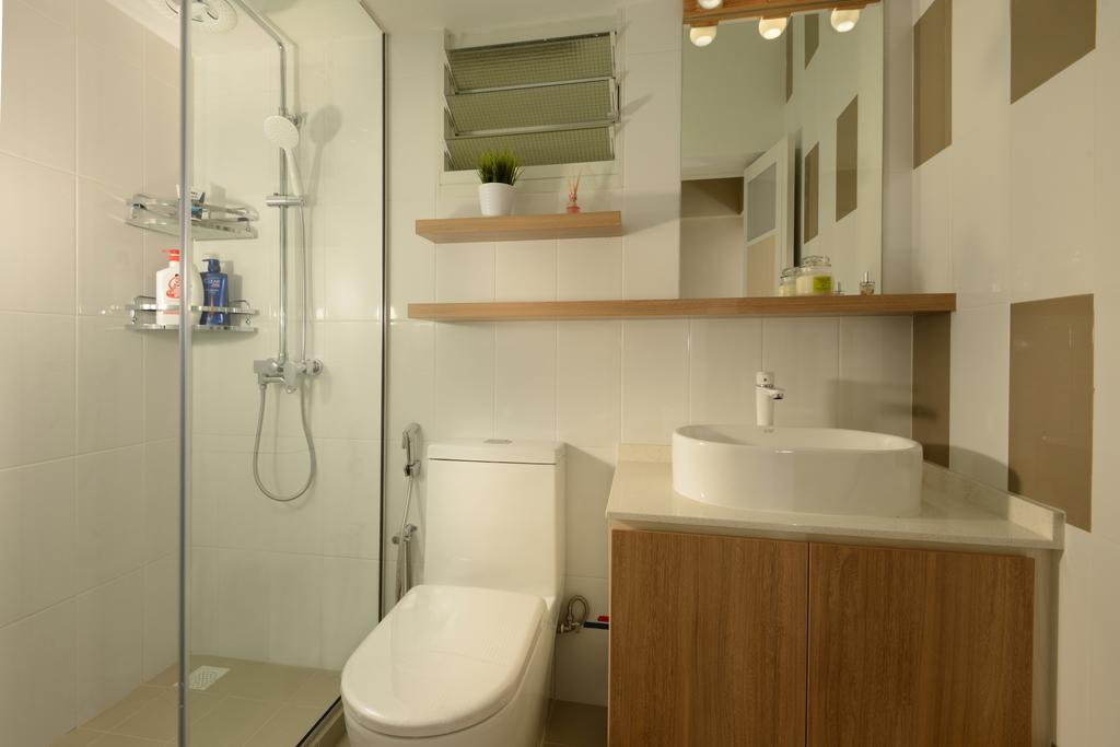HDB, Bathroom, Sumang Walk (Block 217C), Interior Designer, 96 Designers Group