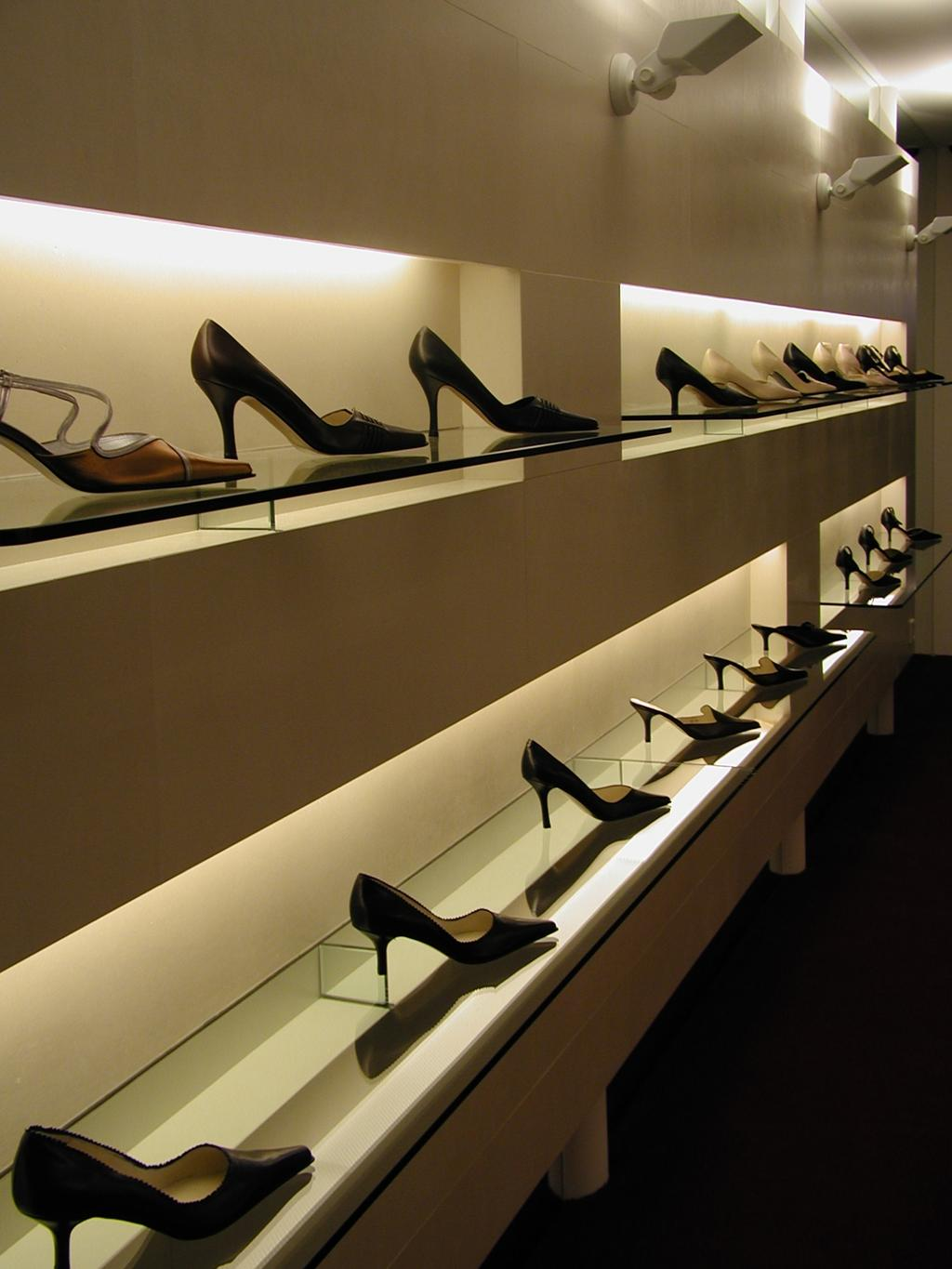 Lulu, Commercial, Architect, Wallflower Architecture + Design, Traditional, Clothing, Footwear, Shoe, High Heel, Heel