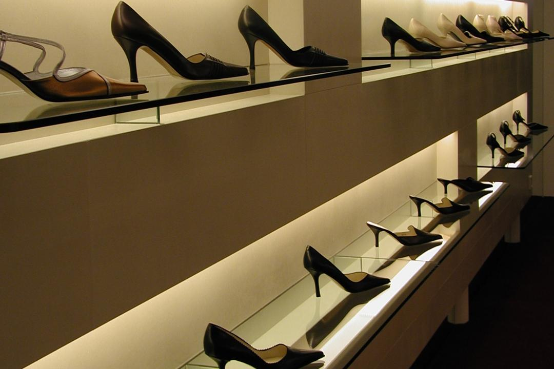 Lulu, Wallflower Architecture + Design, Traditional, Commercial, Clothing, Footwear, Shoe, High Heel, Heel