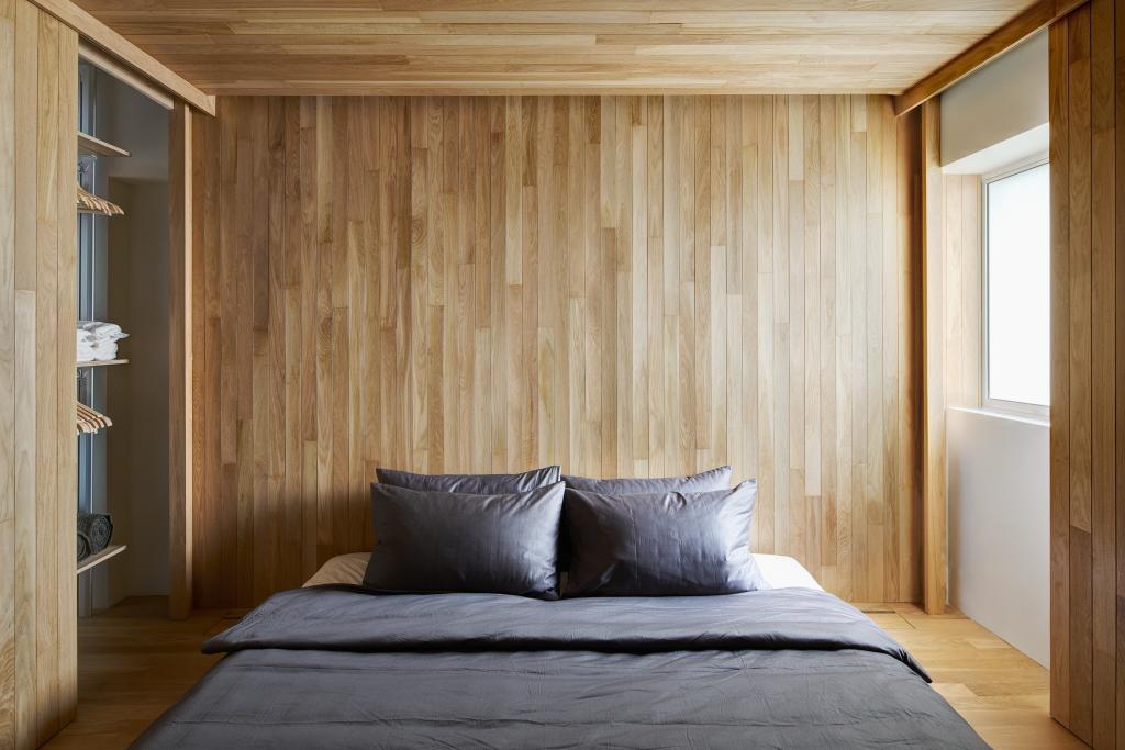 Contemporary, HDB, Bedroom, Bukit Purmei, Architect, asolidplan, Indoors, Interior Design, Room