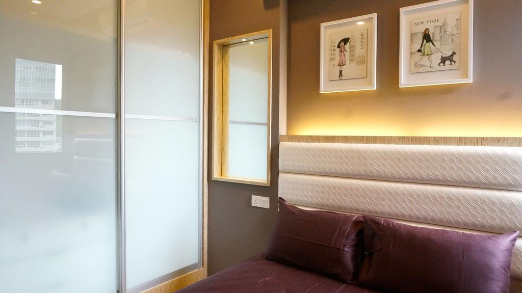 Traditional, Condo, Bedroom, Surin, Interior Designer, Ethnic ID, Bed, Furniture, Indoors, Interior Design, Room