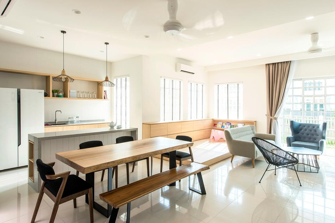 Stafford, Setia Eco Glades Dining Room Interior Design 5