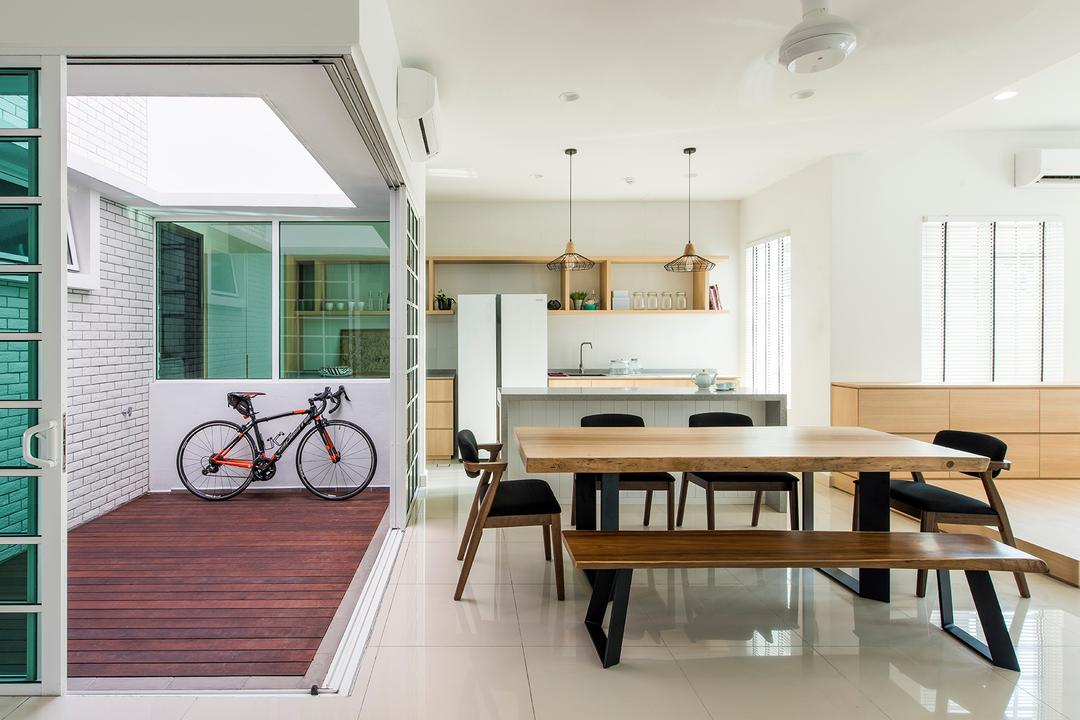 Stafford, Setia Eco Glades, Pocket Square, Minimalistic, Dining Room, Landed, Dining Table, Furniture, Table, Bicycle, Bike, Transportation, Vehicle, Indoors, Interior Design, Room