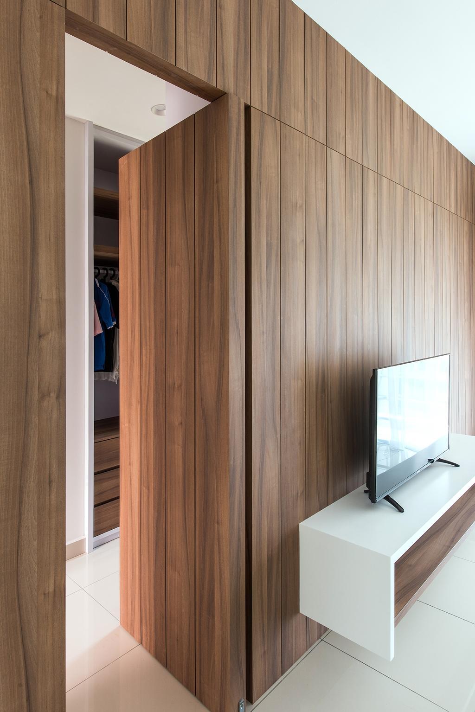 Minimalistic, Landed, Bedroom, Stafford, Setia Eco Glades, Interior Designer, Pocket Square