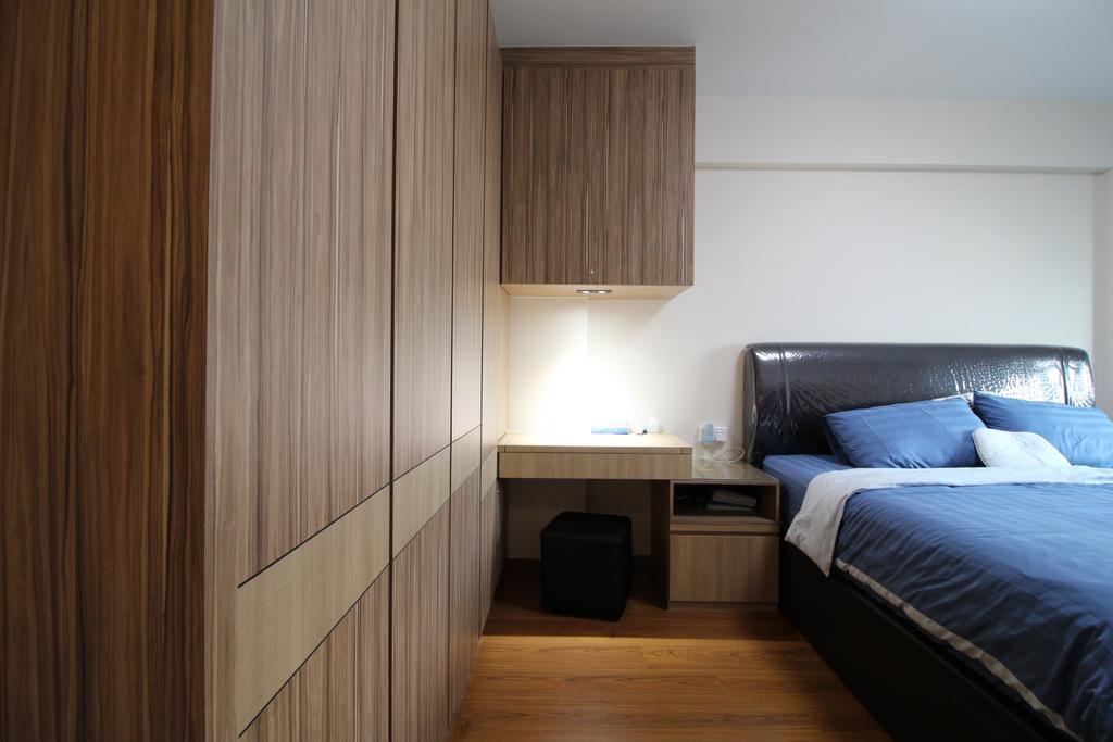 Modern, HDB, Bedroom, Fajar Road, Interior Designer, Aestherior, Indoors, Interior Design, Room