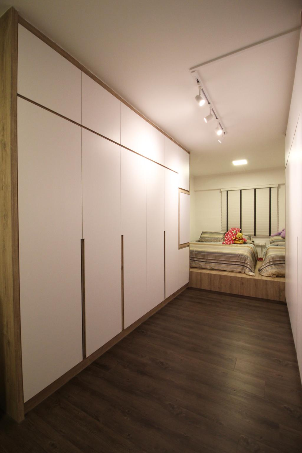 Contemporary, HDB, Bedroom, Upper Cross Street, Interior Designer, Aestherior, Modern, Indoors, Interior Design