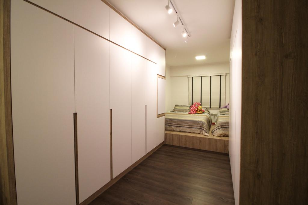 Contemporary, HDB, Bedroom, Upper Cross Street, Interior Designer, Aestherior, Modern