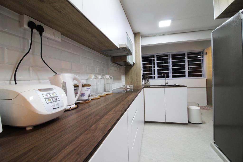 Contemporary, HDB, Kitchen, Upper Cross Street, Interior Designer, Aestherior, Modern, Indoors, Interior Design