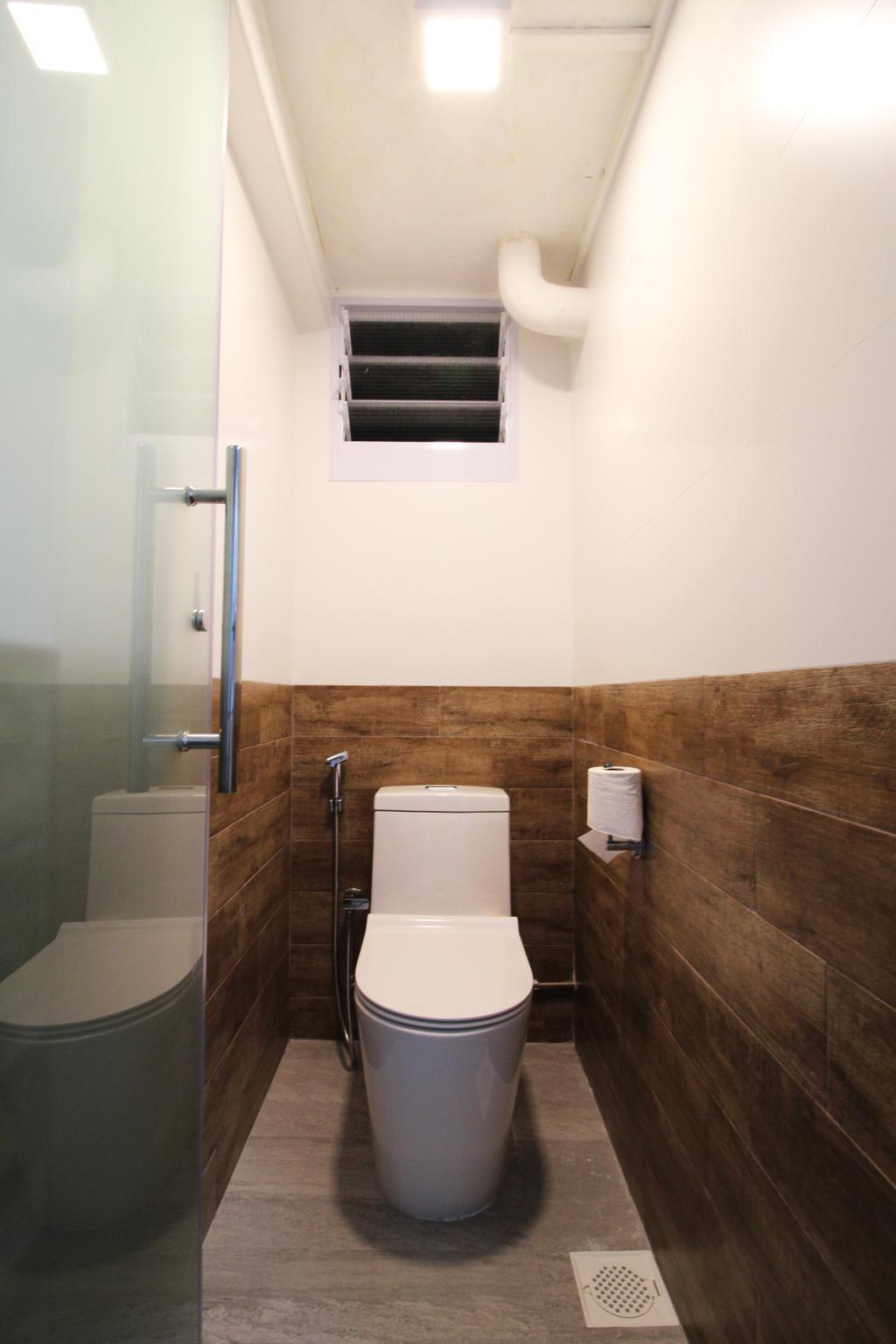 Contemporary, HDB, Bathroom, Upper Cross Street, Interior Designer, Aestherior, Modern