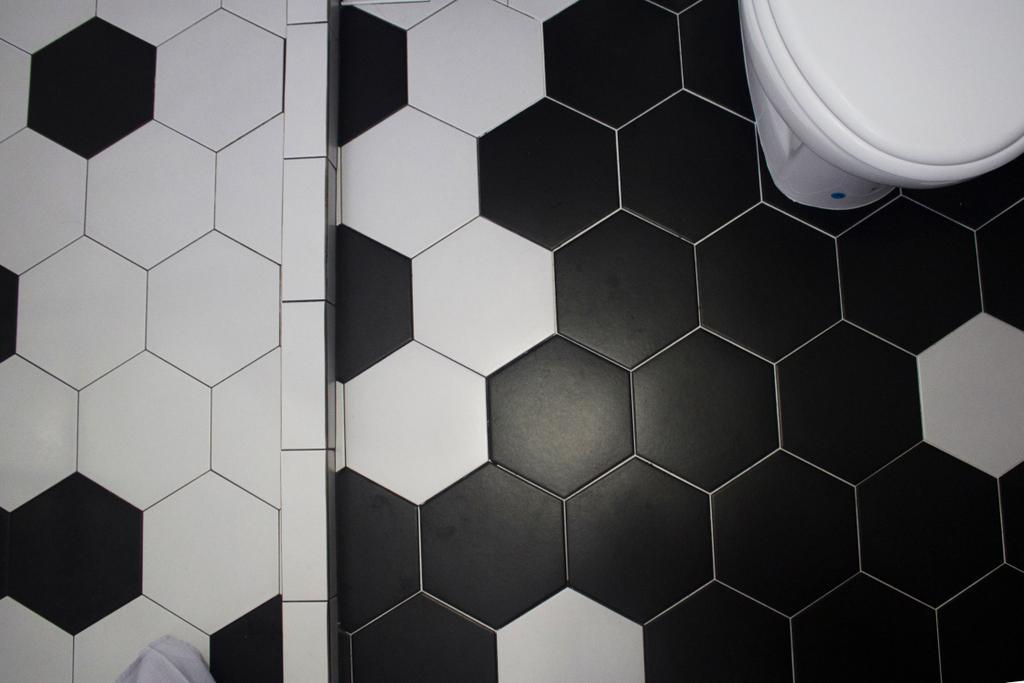 Industrial, HDB, Bathroom, Yishun Ring Road, Interior Designer, Aestherior, Tile, Toilet