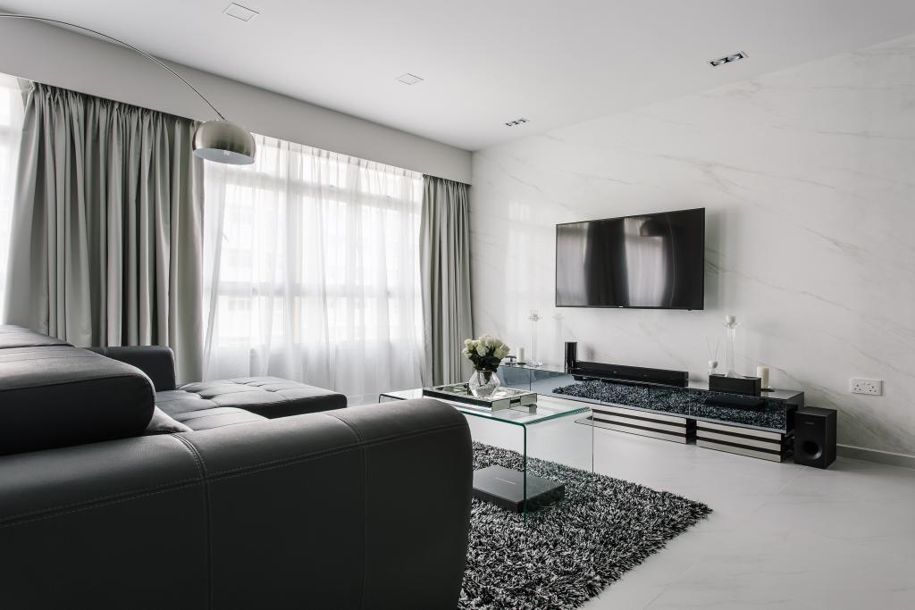Modern, HDB, Living Room, Sumang Walk, Interior Designer, Corazon Interior, Indoors, Room, Interior Design