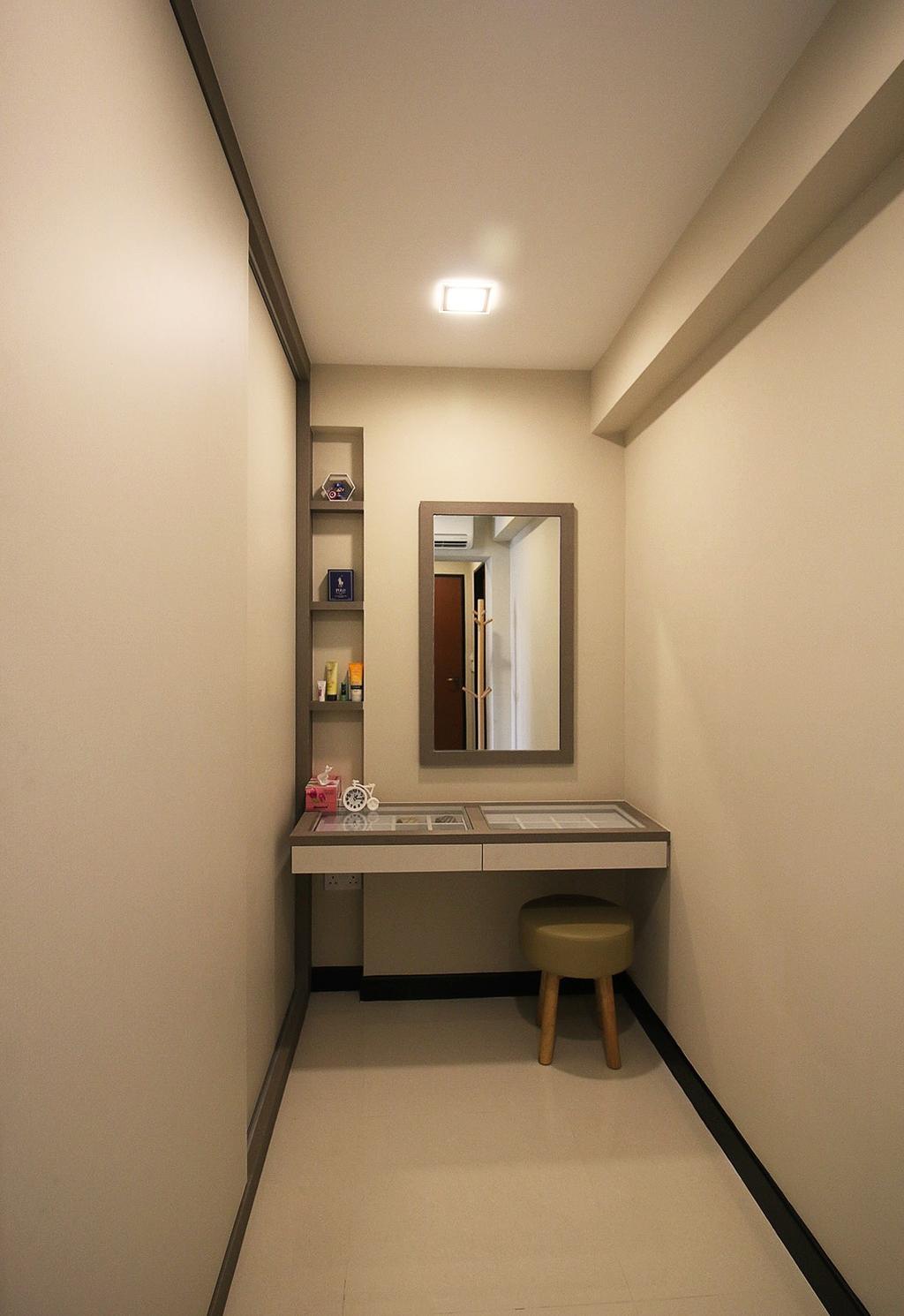 Scandinavian, HDB, Bedroom, Fajar Road (Block 443C), Interior Designer, ChanInteriors