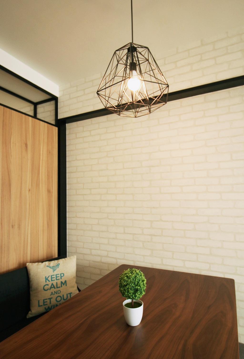 Scandinavian, HDB, Dining Room, Fajar Road (Block 443C), Interior Designer, ChanInteriors