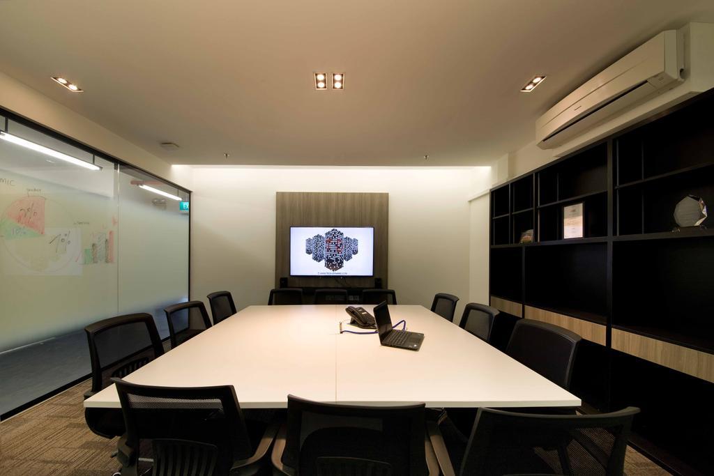 Tech Dynamic Office, Commercial, Interior Designer, Designe Couture, Modern