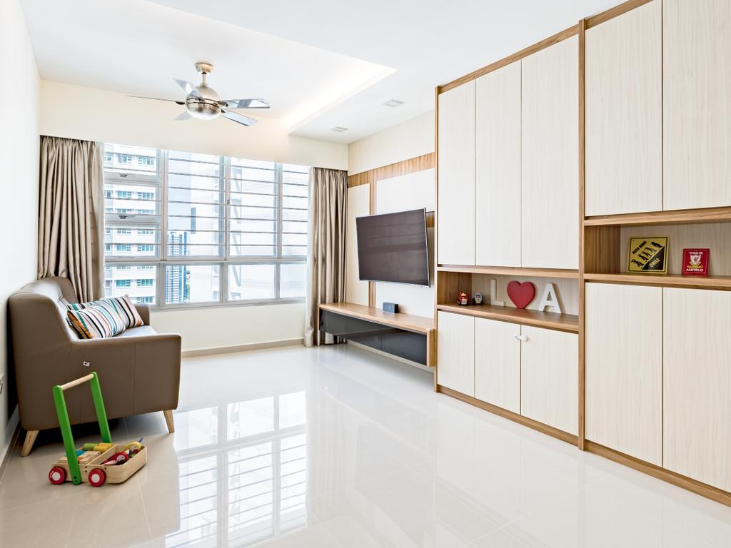 Modern, HDB, Living Room, Bendemeer Road (Block 10C), Interior Designer, DS 2000 Interior & Design, Indoors, Interior Design, Chair, Furniture