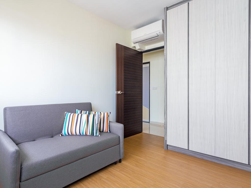 Modern, HDB, Bedroom, Bendemeer Road (Block 10C), Interior Designer, DS 2000 Interior & Design, Molding, Couch, Furniture