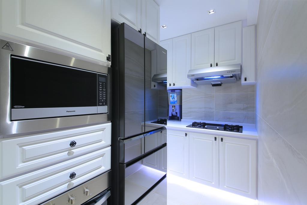 傳統, 私家樓, 廚房, 榮華閣, 室內設計師, Koi Decoration & Design