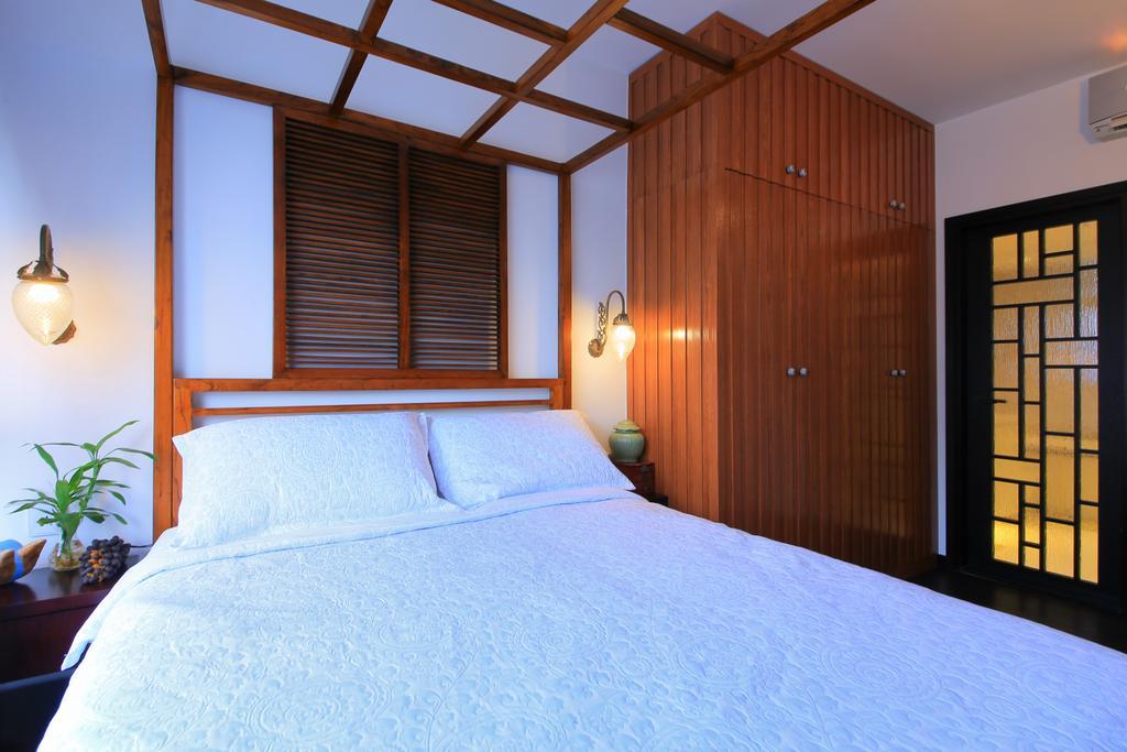 傳統, 私家樓, 睡房, 榮華閣, 室內設計師, Koi Decoration & Design, Indoors, Interior Design, Room, Bed, Furniture