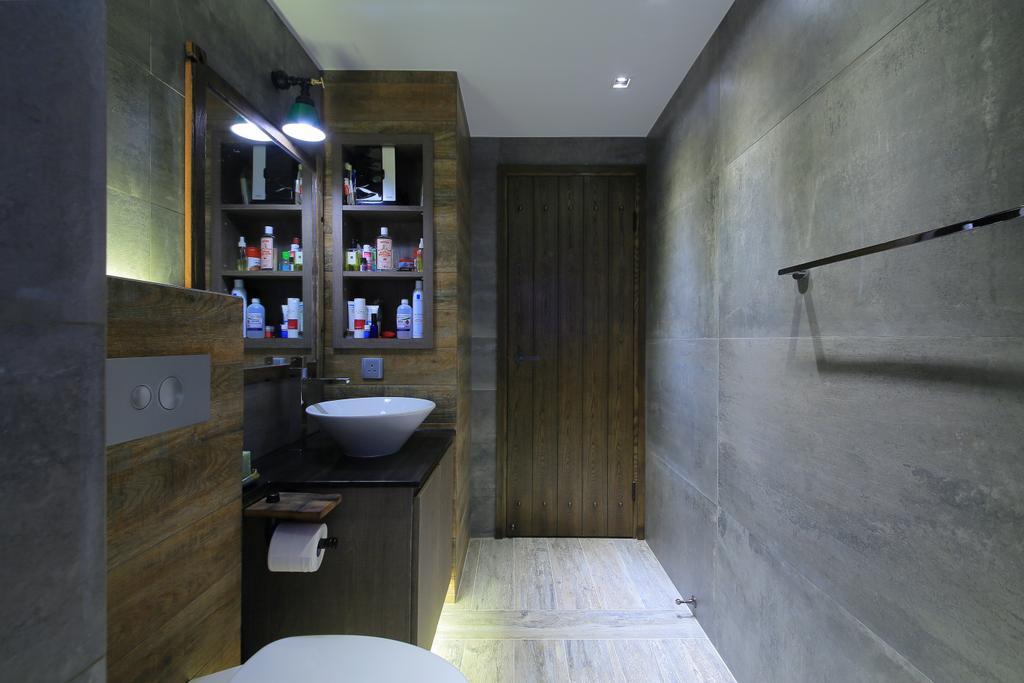 傳統, 私家樓, 浴室, 榮華閣, 室內設計師, Koi Decoration & Design