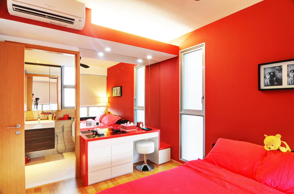 Eclectic, Condo, Bedroom, The Prive, Architect, FOMA Architects, Art, Art Gallery, Indoors, Interior Design, Room
