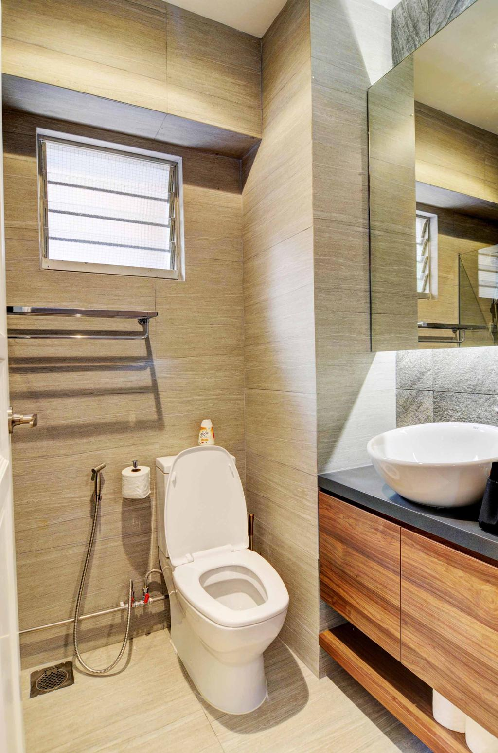 Modern, HDB, Bathroom, Whampoa (Block 112), Architect, FOMA Architects