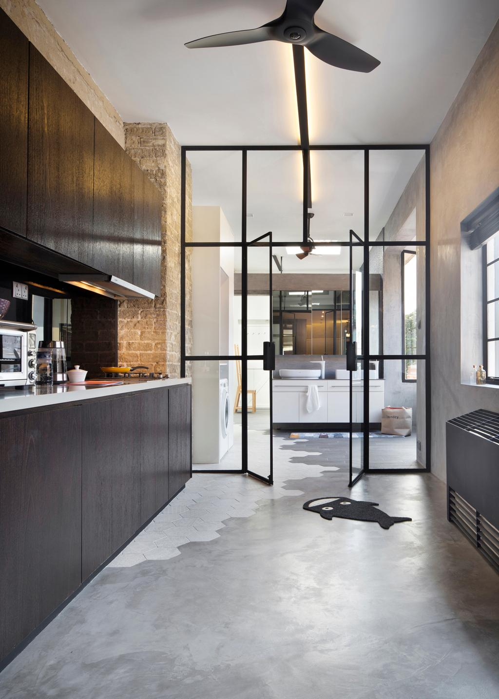Industrial, HDB, Kitchen, Joo Chiat Road (Block 257B), Interior Designer, Prozfile Design