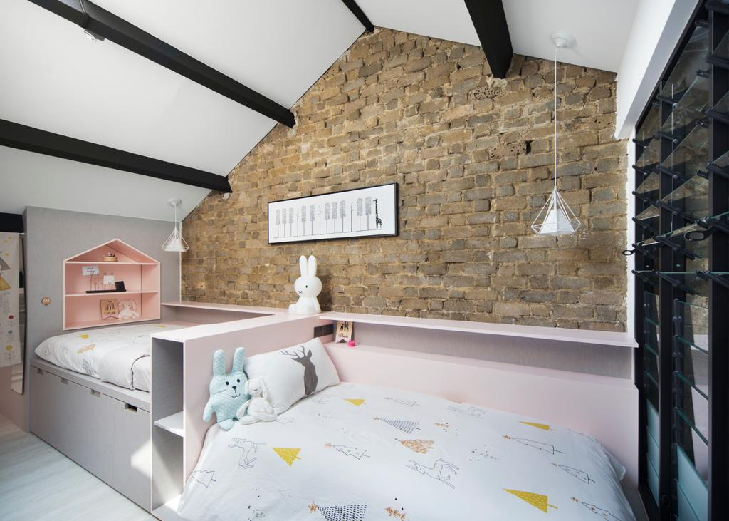 Industrial, HDB, Bedroom, Joo Chiat Road (Block 257B), Interior Designer, Prozfile Design