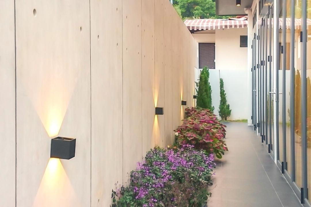 57 Seraya Crescent, FOMA Architects, Contemporary, Landed, Flora, Lavender, Plant