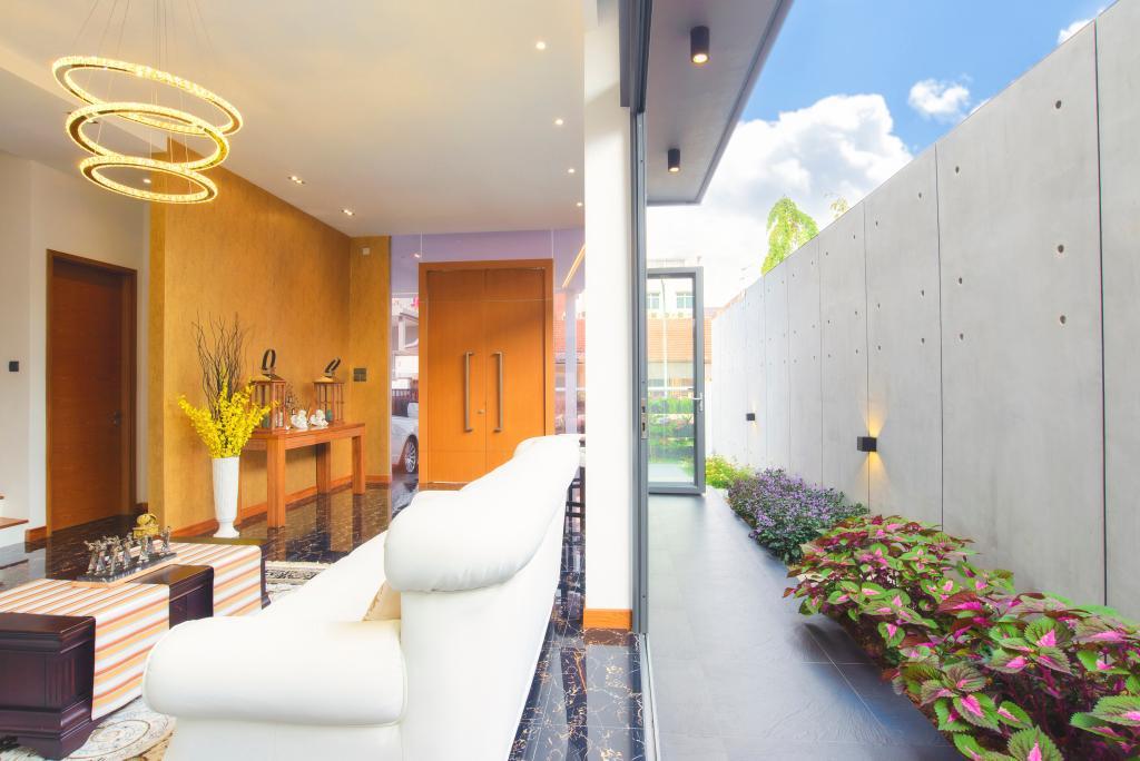 Contemporary, Landed, Dining Room, 57 Seraya Crescent, Architect, FOMA Architects, Indoors, Interior Design, Flora, Plant, Vine