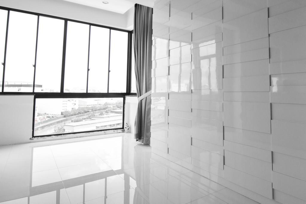 Minimalistic, Condo, Living Room, Lakeside Drive (Block 2), Interior Designer, 9 Creation, Modern, Towel, Tile
