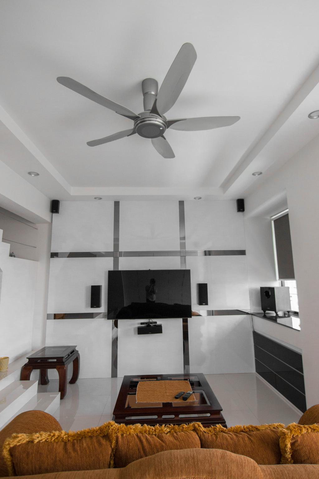Minimalistic, Condo, Living Room, Lakeside Drive (Block 2), Interior Designer, 9 Creation, Modern, HDB, Building, Housing, Indoors, Loft