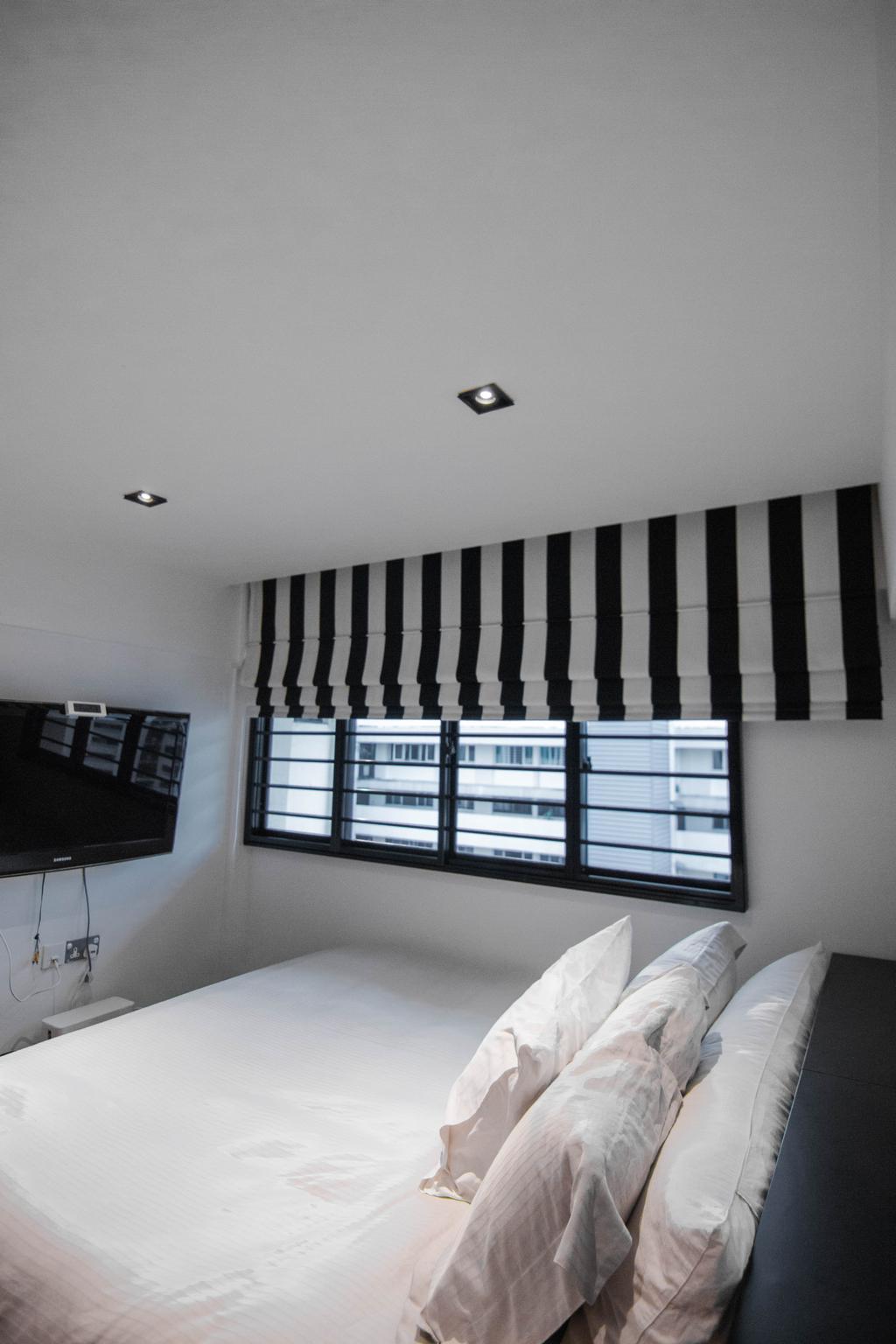Minimalistic, HDB, Bedroom, Marine Drive, Interior Designer, 9 Creation, Eclectic