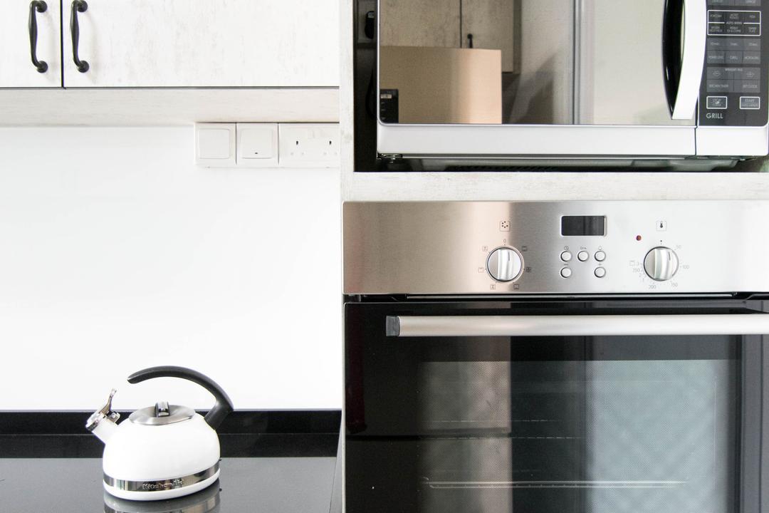 Pasir Ris Street 51 (Block 525C), 9 Creation, Scandinavian, Kitchen, HDB, Kettle, Pot, Appliance, Electrical Device, Oven