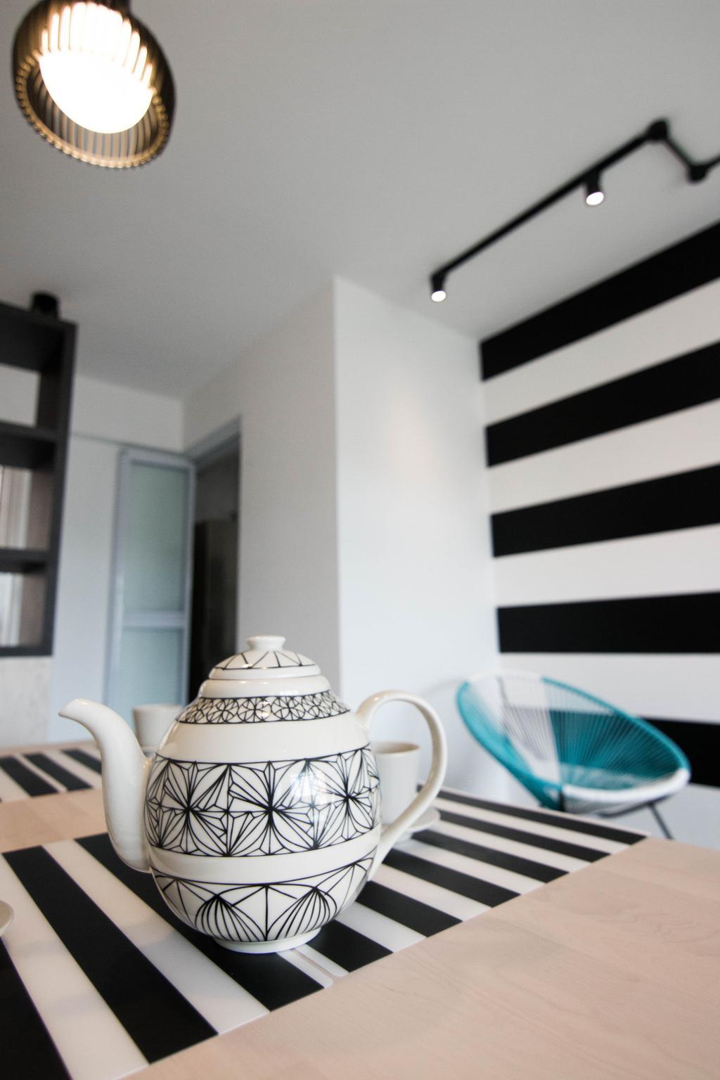 Scandinavian, HDB, Dining Room, Pasir Ris Street 51 (Block 525C), Interior Designer, 9 Creation, Cup, Bedroom, Indoors, Interior Design, Room