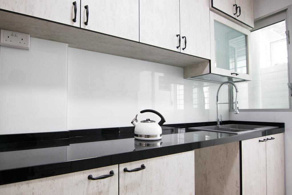 Scandinavian, HDB, Kitchen, Pasir Ris Street 51 (Block 525C), Interior Designer, 9 Creation