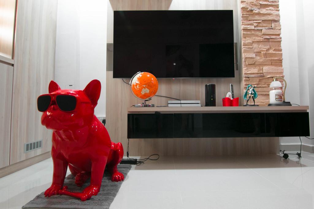 Scandinavian, HDB, Living Room, Telok Blangah Rise (Block 42), Interior Designer, 9 Creation, Flora, Food, Plant, Produce, Pumpkin, Squash, Vegetable
