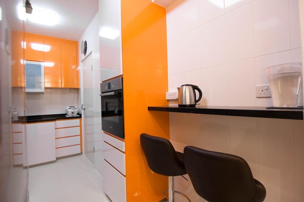 Modern, HDB, Kitchen, Clementi Avenue 4 (Block 312B), Interior Designer, 9 Creation, Chair, Furniture, Sideboard, Indoors, Interior Design, Cup