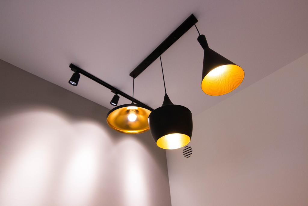 Modern, HDB, Living Room, Clementi Avenue 4 (Block 312B), Interior Designer, 9 Creation, Lighting, Lamp