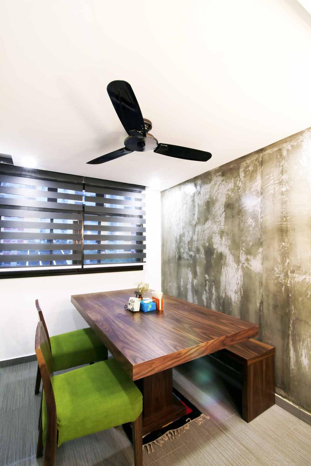 Eclectic, HDB, Dining Room, Toa Payoh (Block 204), Architect, FOMA Architects
