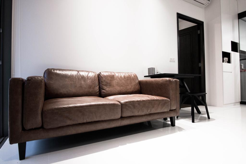 Contemporary, HDB, Living Room, Braddell Road, Interior Designer, 9 Creation, Industrial, Couch, Furniture, Chair