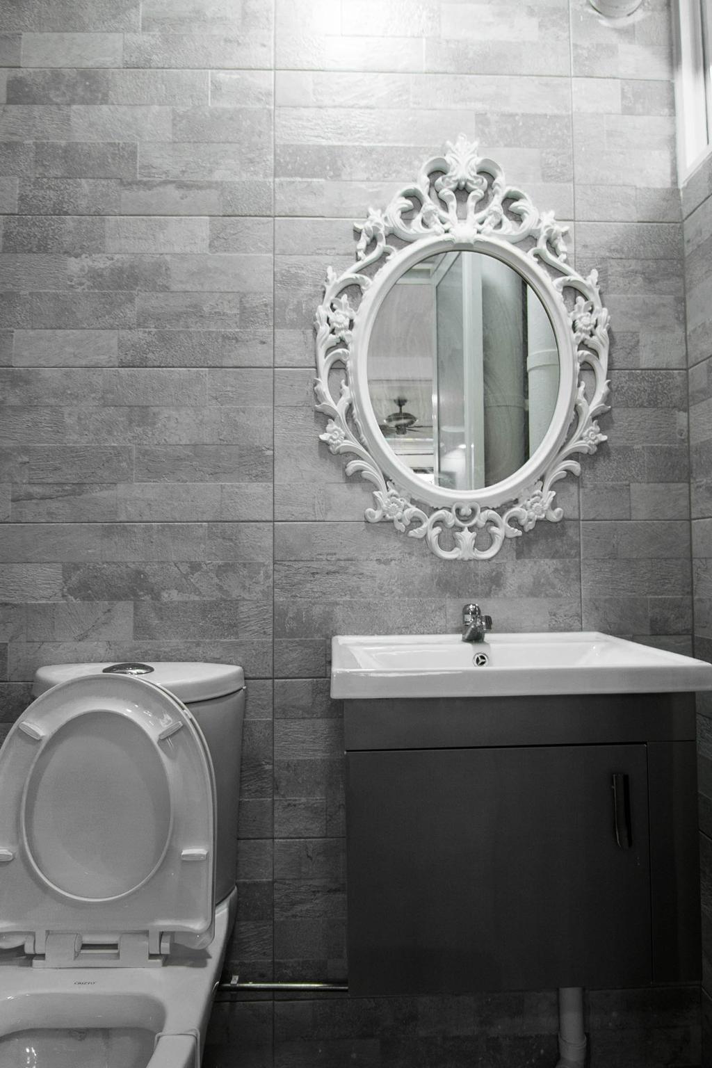 Transitional, HDB, Bathroom, Woodlands Drive 50 (Block 893C), Interior Designer, 9 Creation, Indoors, Interior Design, Room