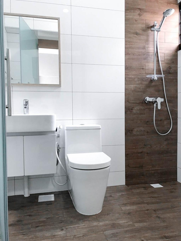 Minimalistic, HDB, Bathroom, Clementi Avenue 3 (Block 462), Interior Designer, 9 Creation, Contemporary, Toilet