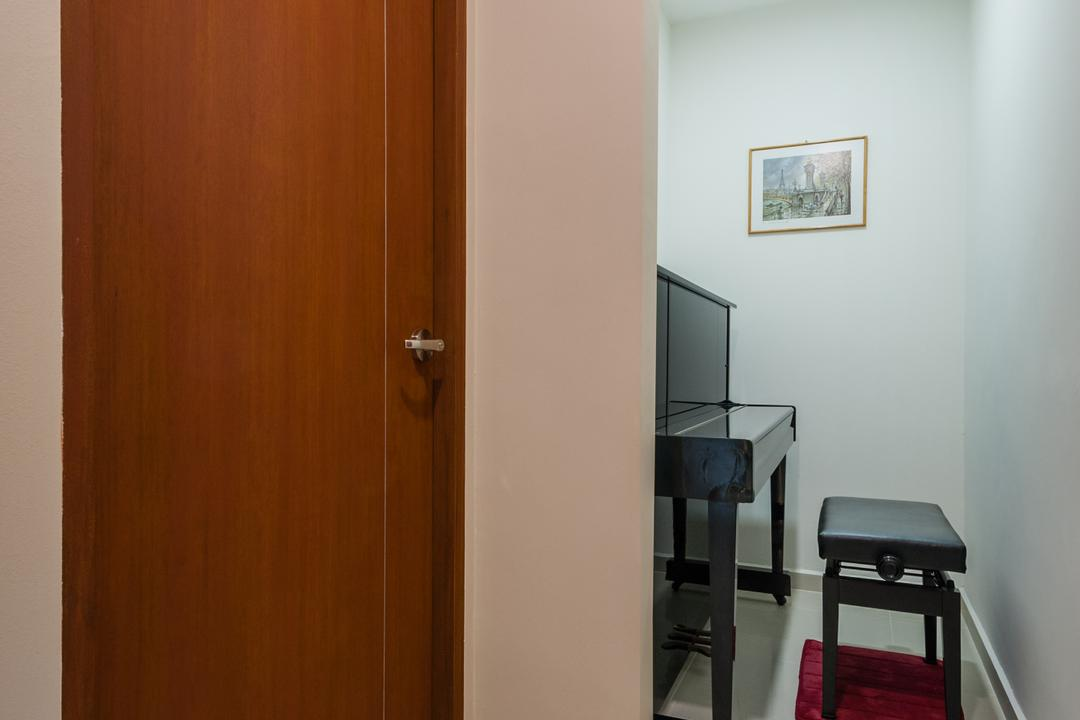 Petir Road (Block 150), Le Interi, Traditional, HDB, Piano, Piano Room, Chair, Furniture, Art, Art Gallery, Dining Table, Table