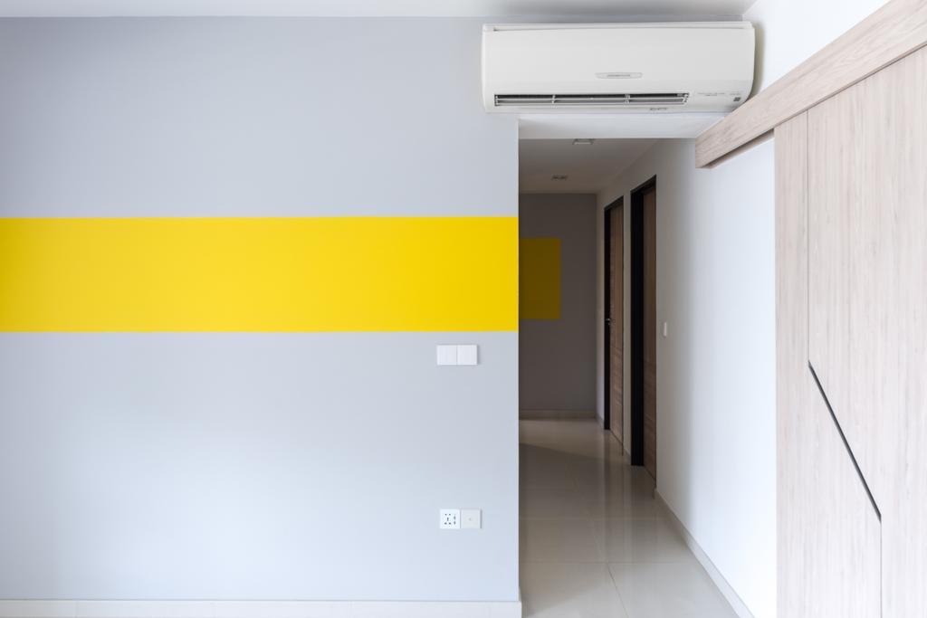 Minimalistic, Condo, Bedroom, Boon Keng, Interior Designer, DISTINCTidENTITY, Scandinavian