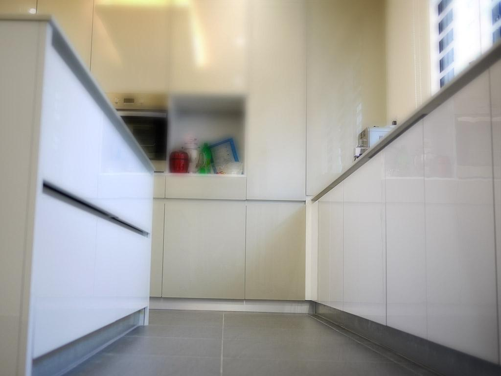Minimalistic, Landed, Kitchen, Jalan Pantai Molek (Penang), Interior Designer, Minterior Project Sdn Bhd, Cabinet, Furniture, Medicine Chest, Corridor