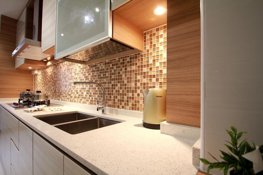 Modern, HDB, Living Room, Tampines Street 83, Interior Designer, VVID Elements, Bathroom, Indoors, Interior Design, Room, Flora, Jar, Plant, Potted Plant, Pottery, Vase